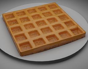 3D model Classic waffle