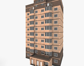 3D Simple Residential Building 3