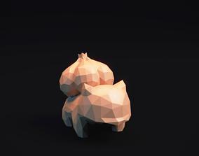 Bulbasaur - Stylized LowPoly Art 3D print model