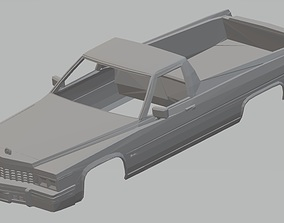 El Camino 1977 Printable Body Car