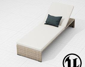 3D model Dedon Slimline Lounge 003 UE4