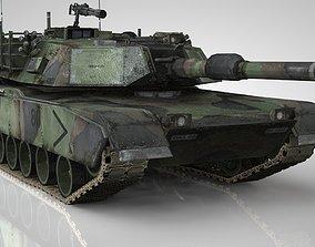 3D asset American Main Battle Tank