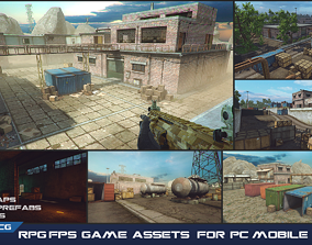 game-ready RPG FPS Game Assets for PC Mobile 2