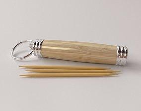 Toothpick Holder 3D