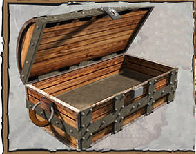 Treasure Chest 3D printable model