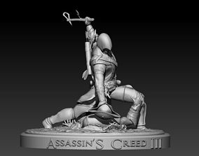3D print model Assassins Creed III