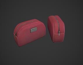 3D model Red Makeup Bag - Cosmetic Bag