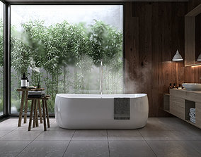 3D washbasin Bathroom