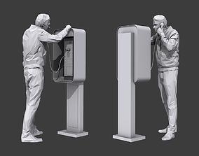 3D asset Phone Talk