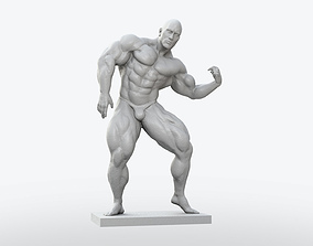 Body Builder Statue 3D print model