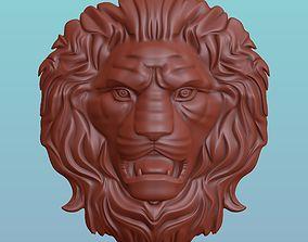 Lion Head 3D printable model printable