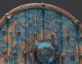 Viking Shield 3D asset realtime PBR