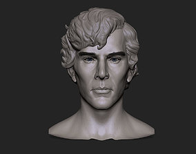 3d model of Sherlock Holmes animated