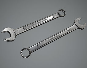 Combination Wrench 3D model