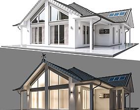 Modern Residential Building 3D model realtime
