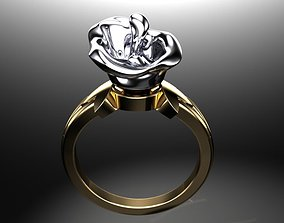 3D printable model jewelry golden-ring