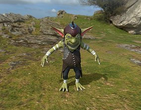 Four Goblins Game-Ready And Animation-Ready 3D model