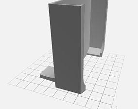 3D print model Car Mount for Pixel XL w Otterbox Case 5
