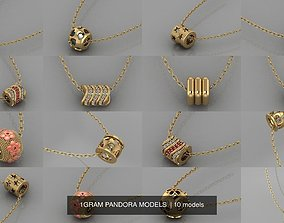 3D 1GRAM PANDORA MODELS