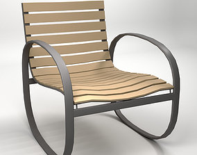 3D Parc Rocking Chair