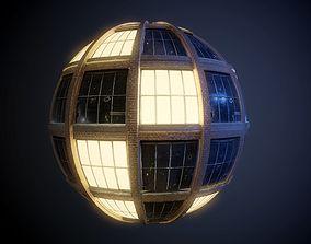architecture City Building Windows PBR SEAMLESS Texture 3D