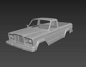 Jeep J10 1963 Body For Print 3D printable model