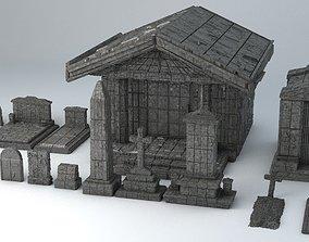 Sci-Fi Shapes - The Necropolis 3D asset