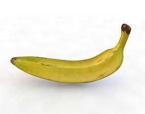3D model Plantain yellow banana