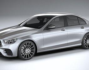 3D Mercedes E-Class Sedan AMG line 2021