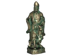 Buddha 3D printable model dame