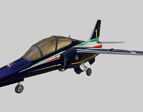 3D asset ALENIA Aermacchi M-345 - The Italian Job