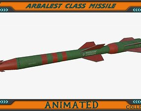 Arbalest class Missile 3D model