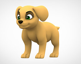 Labrador Puppy 3D model