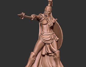 Spartan woman - Trassya 35 mm scale 3D print model