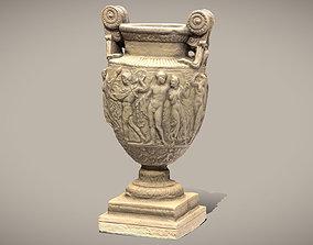 Ancient Greek Roman Vase 3D asset