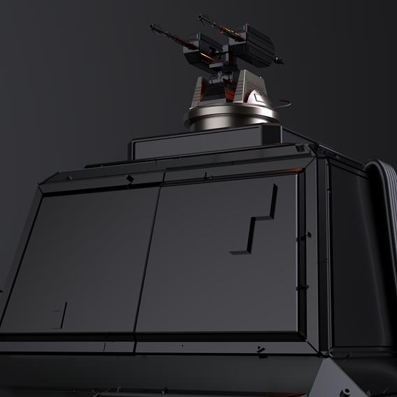 Sci Fi turret