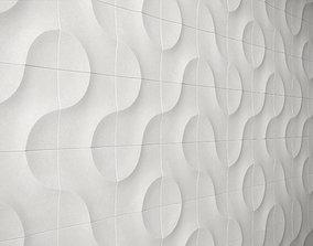 Gypsum Parametric Decorative Wall Panels 3D