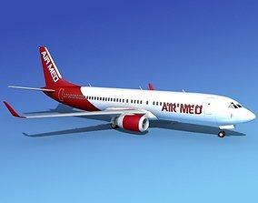 3D Boeing 737-800 AirMed