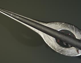 Spear viking 3D asset
