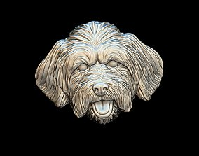 animal Lhasa Apso dog pendant 3D print model