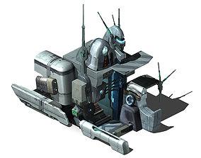 Different dimension - building - entrance 01 3D model