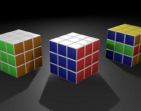 3D model Rubiks Cube 2019