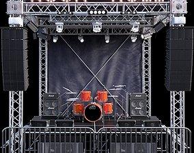 Mini Concert Stage 3D