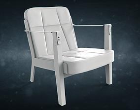 3D model De La Espada Capo Lounge Armchair