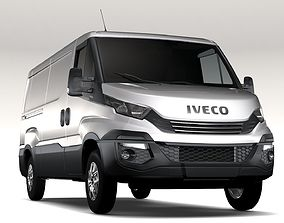 Iveco Daily L2H1 2017 3D