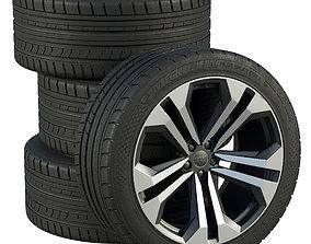 3D model Audi wheels michelin