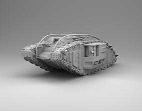 Strong tank 3D print model