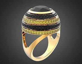 BEE cocktail ring RG0015 3D print model
