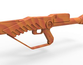 Suliban Rifle from Star Trek Enterprise TV series 3D