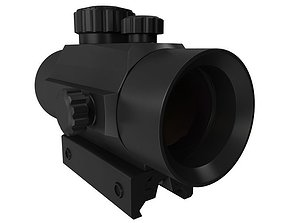Optic Sight 3D model